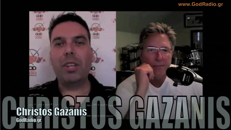 Don Moen's Interview to GodRadio.gr and Christos Gazanis with Greek subtitles