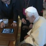 Pope's 1 Tweet by iPad